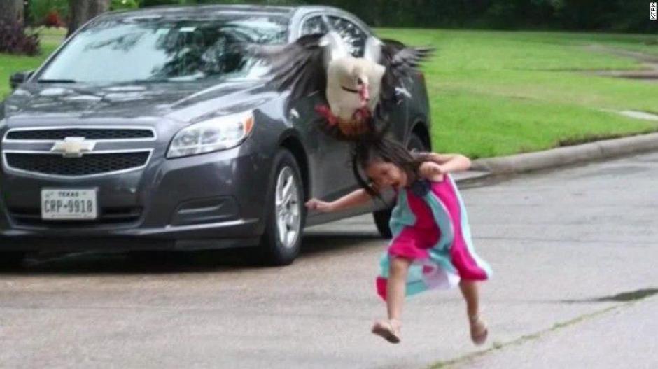 Summer Gildden fue brutalmente atacada por un ganso y sobrevivió para contarlo. (Foto: CNN)