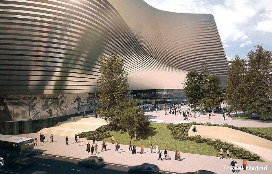 La edificación contemplará que pueda ser construido un hotel de lujo. (Imagen: Real Madrid)