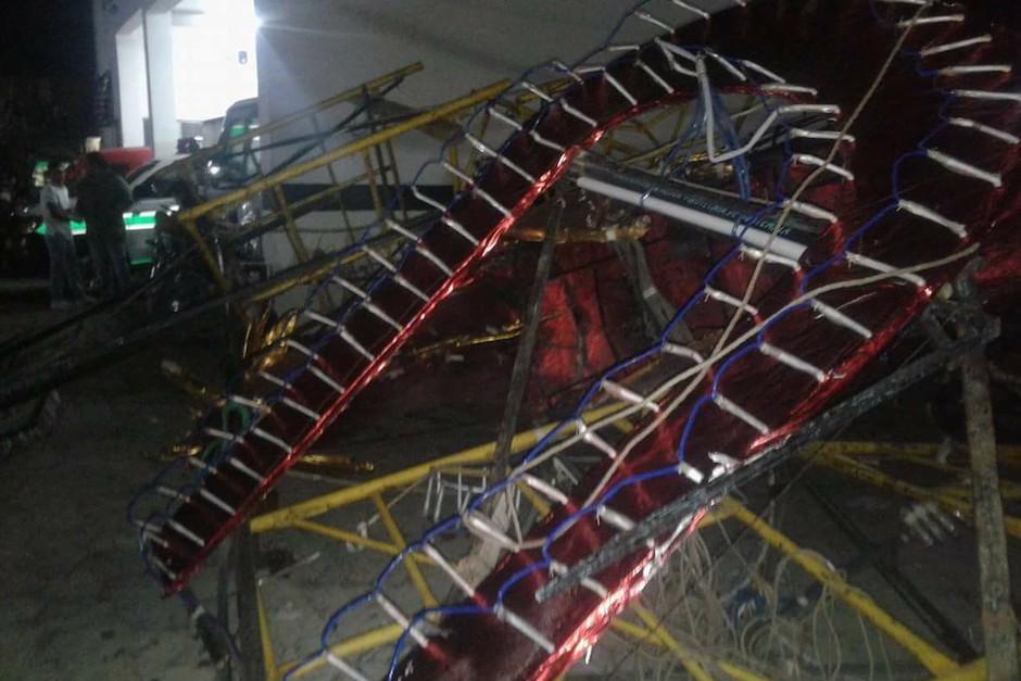 No se reportaron más daños. (Foto: Noticias Sin Límites)