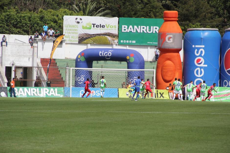 Malacateco abrió el marcador en el primer tiempo. (Foto: Fredy Hernández/Soy502)