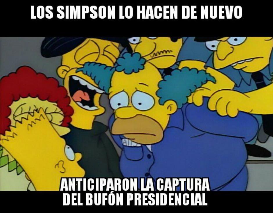 Los Simpsons no podía faltar este día. (Foto: Twitter)
