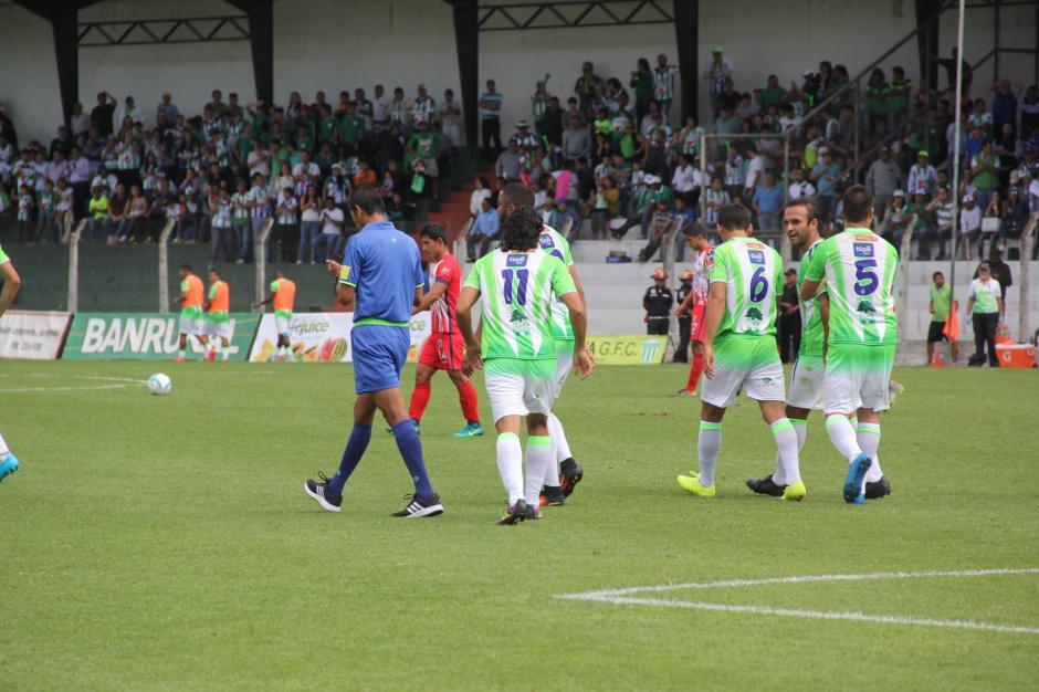 José Manuel Contreras fue otro de los que debutó con Antigua GFC. (Foto: Fredy Hernández/Soy502)