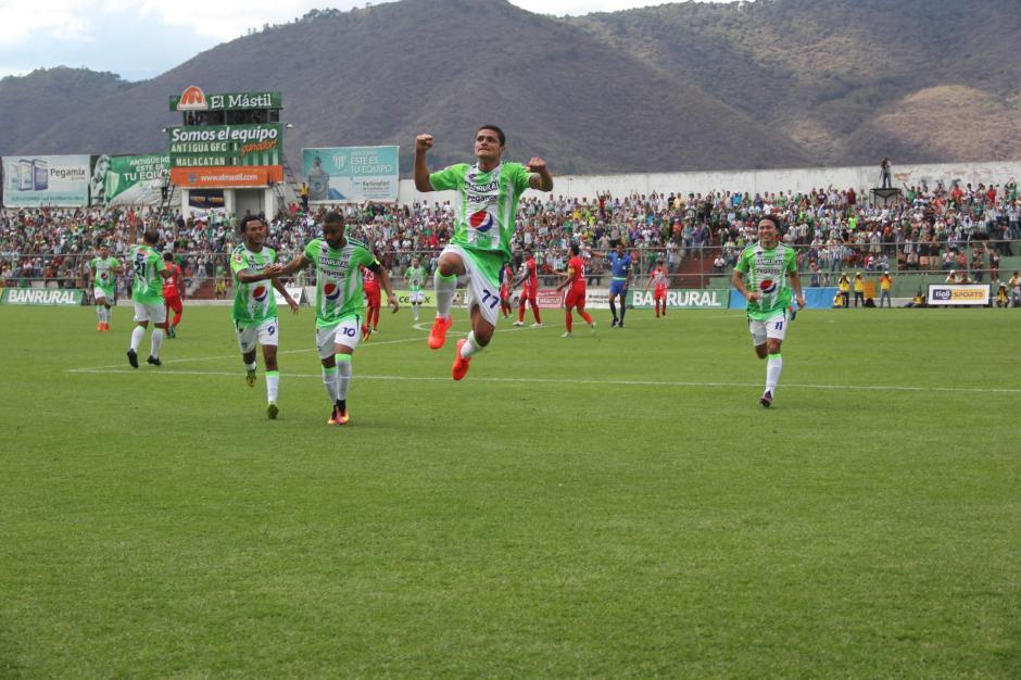 Jairo Arreola debutó con Antigua GFC anotando un gol. (Foto: Fredy Hernández/Soy502)