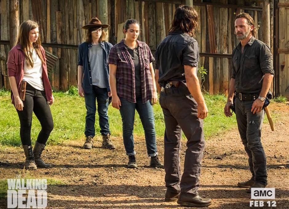 La producción no dará marcha atrás al estilo que ha adoptado. (Foto: The Walking Dead)