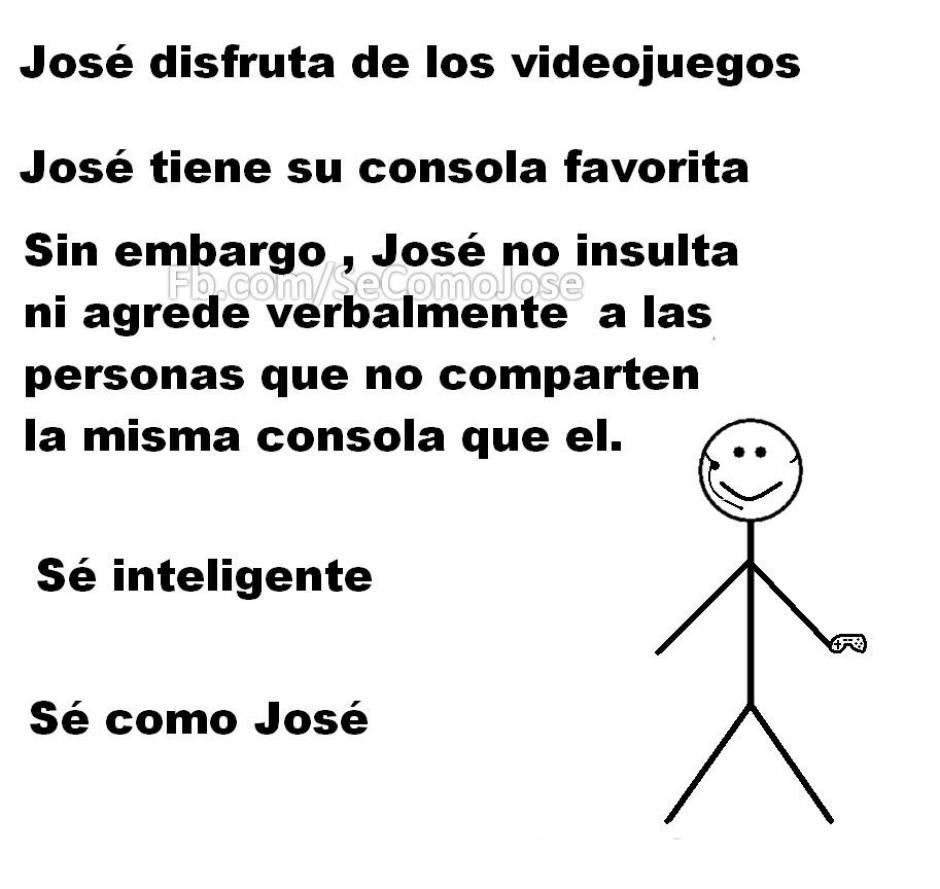 """El dibujo de la página Sé como José se ha convertido en el primer """"meme"""" viral del 2016. (Foto: Facebook/Sé como José)"""