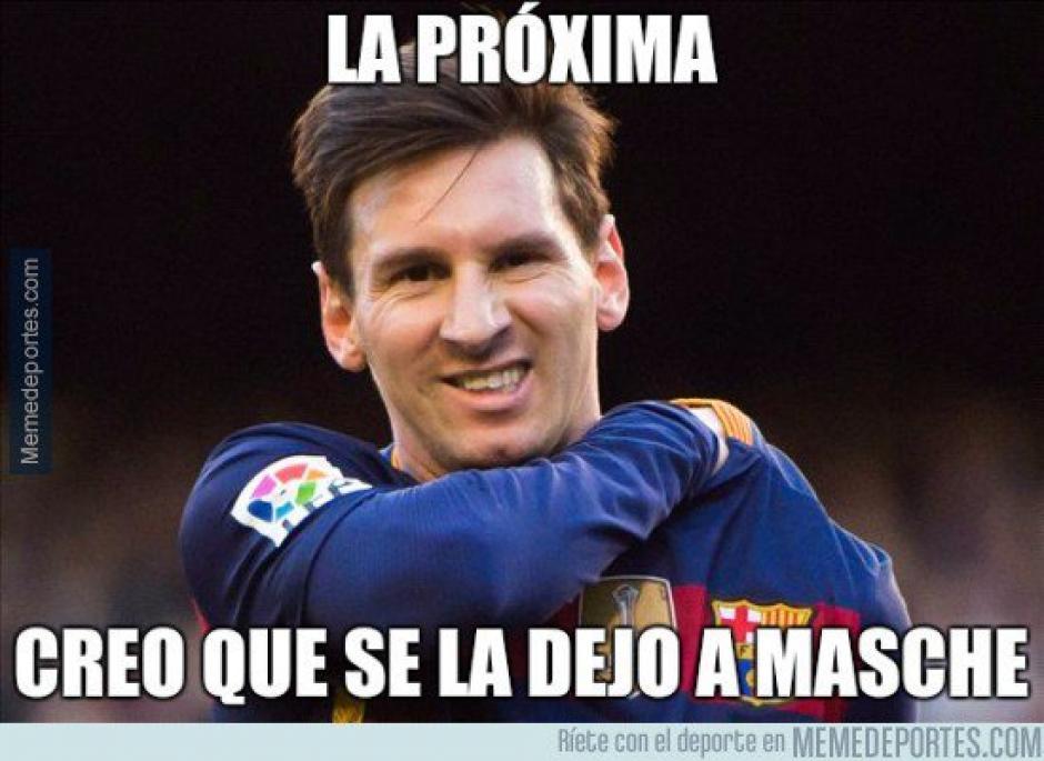 Hay quienes siguen pidiendo que Messi le ceda un penal a Mascherano. (Foto: marca.com)