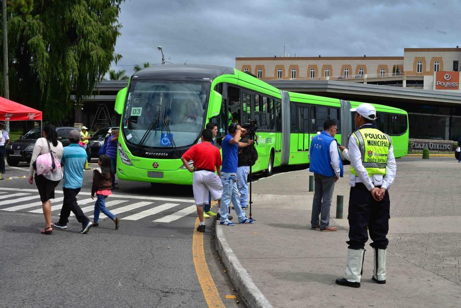 Actualmente cuenta con seis corredores a varias zonas de la capital. (Foto: Archivo/Soy502)