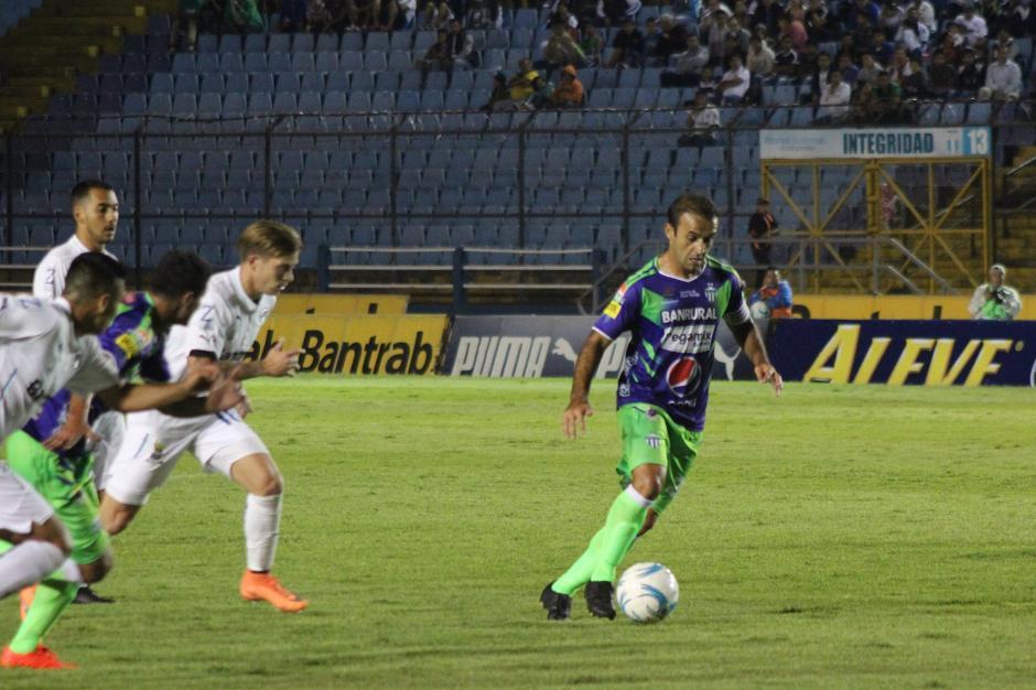 José Manuel entró como capitán y se llevó la victoria. (Foto: José Dávila/Soy502)