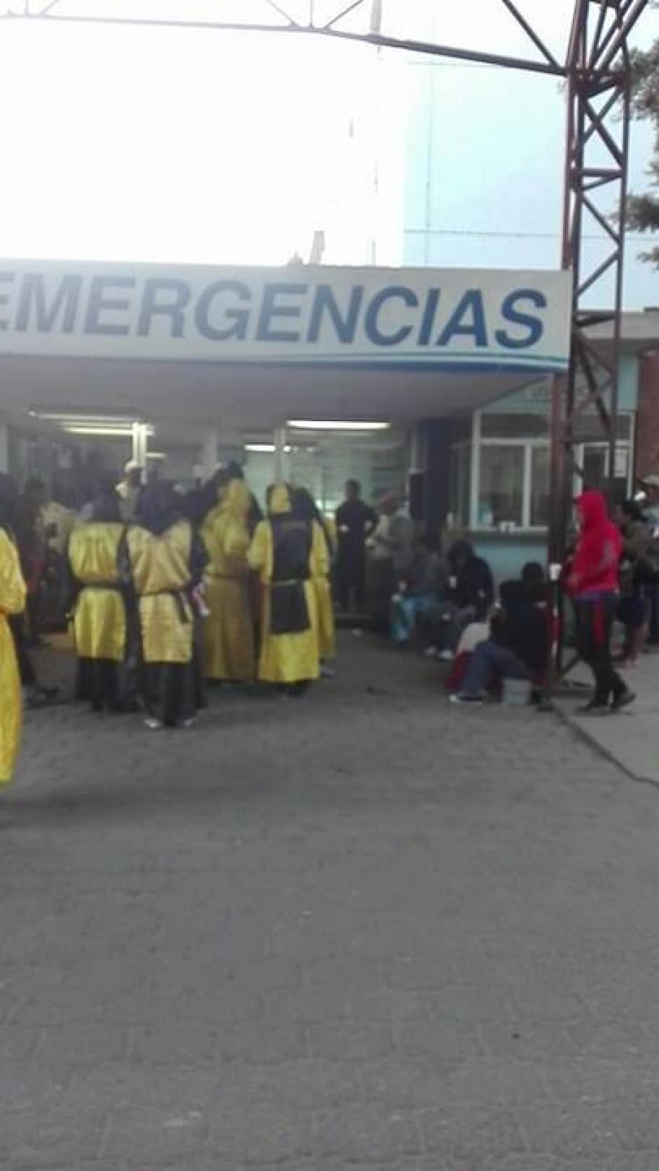 De esta forma tratan de cambiar la imagen que se tiene sobre los encapuchados sancarlistas. (Foto: Stereo 100)