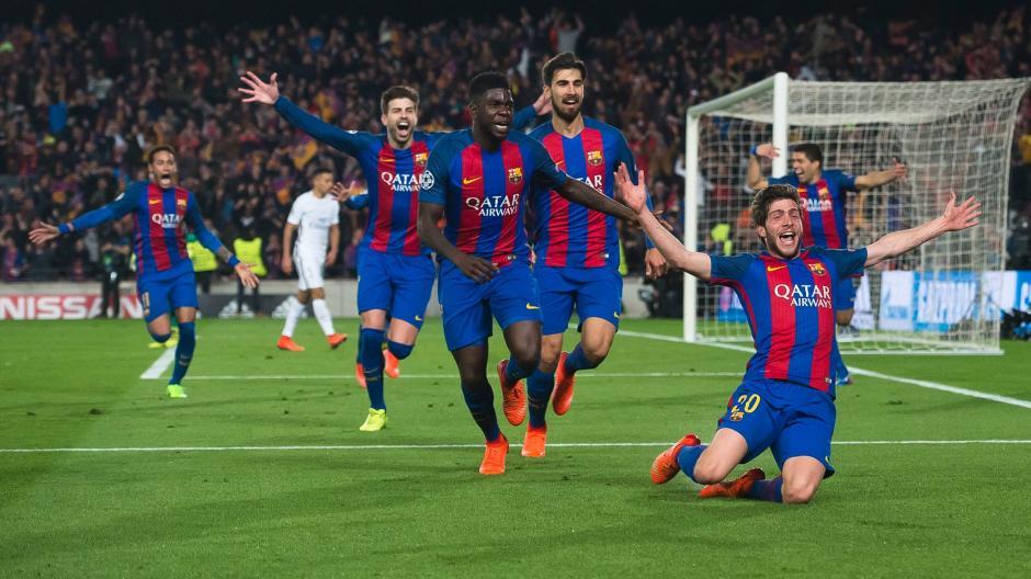 El gol de Sergi Roberto fue el motivo por el que Messi celebró con la grada. (Foto: FC Barcelona)