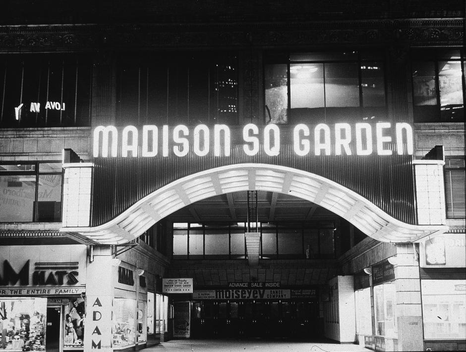 En 1968 se abren las puertas del famos Madison Square Garden en Nueva York. (Foto: jeffersonflanders.com)