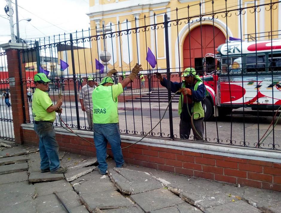 Además, se tiene contemplado construir una parada para el Transmetro que circula sobre ese sector. (Foto: Muni de Guatemala)