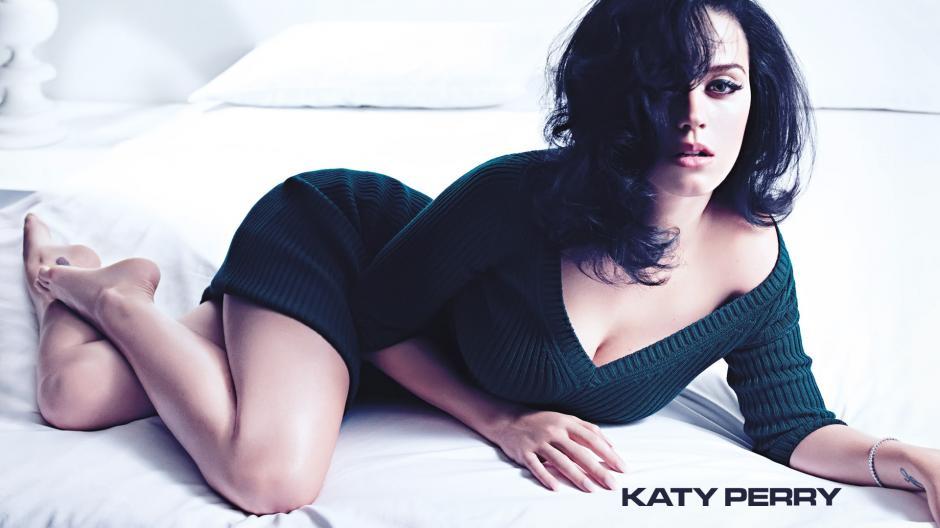 Katy Perry, es una mujer segura de si misma y se atreve a todo.