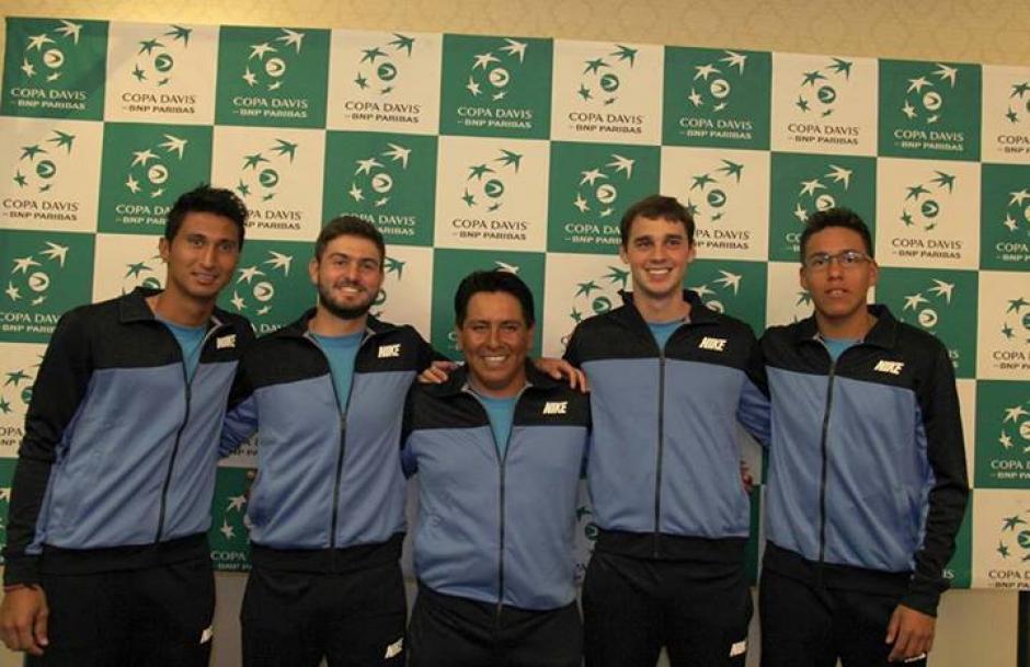 Equipo Copa Davis, Guatemala, México, zona americana
