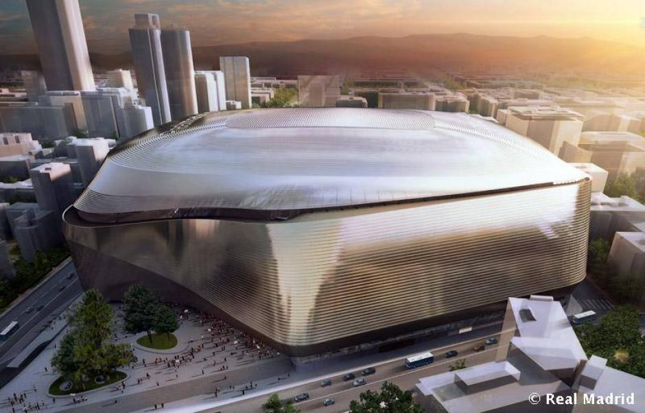El estadio vibrará y cambiará de colores, además que tendrá pantallas LED gigantes. (Imagen: Real Madrid)