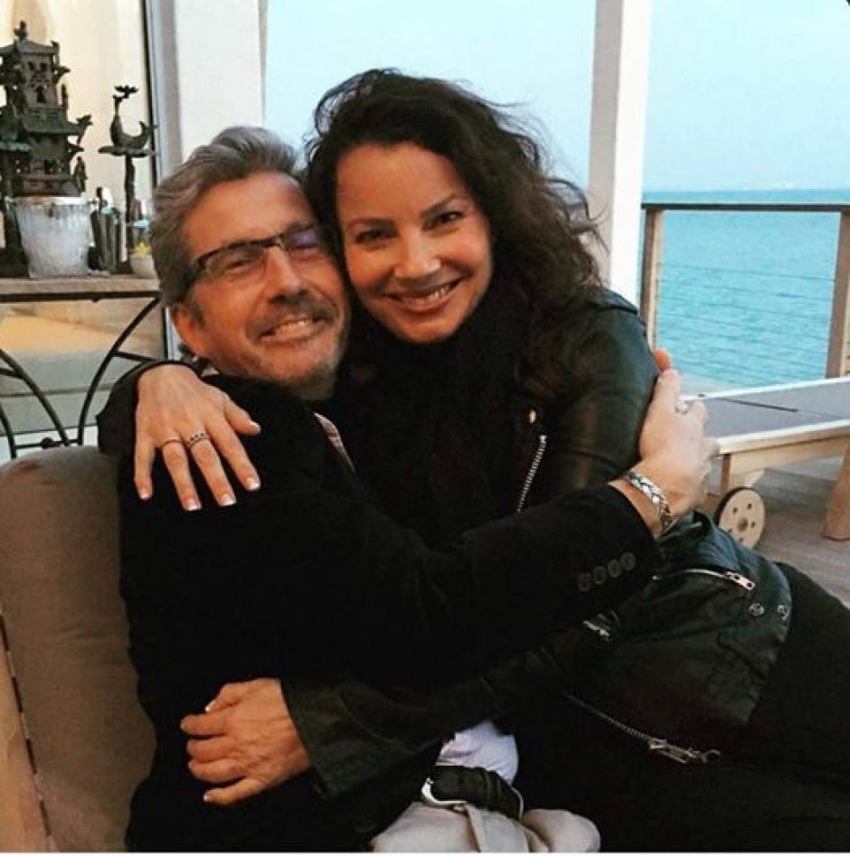 """Charles Shaughnessy y Fran Drescher actores de la serie """"La niñera"""". (Foto: sopitas)"""