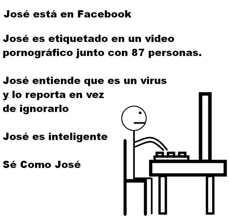 """La página """"Sé como José"""" cobra popularidad en Facebook. (Foto: Facebook/Sé como José)"""