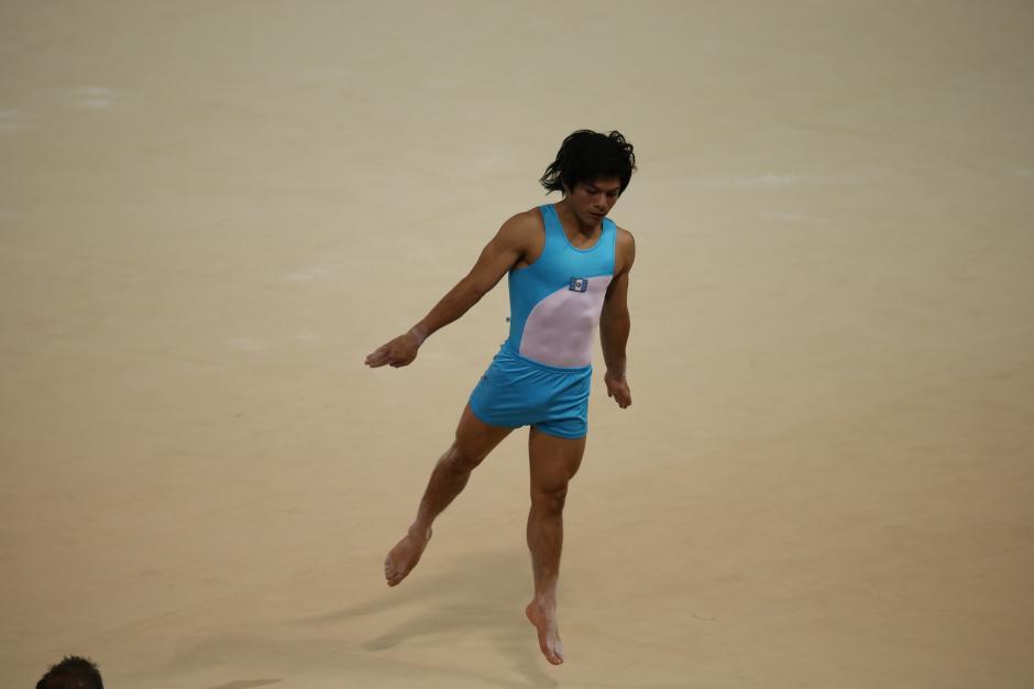Vega dio la primera gran alegría para Guatemala en la edición 17 de los Juegos Panamericanos. (Foto: Comité Olímpico Guatemalteco)