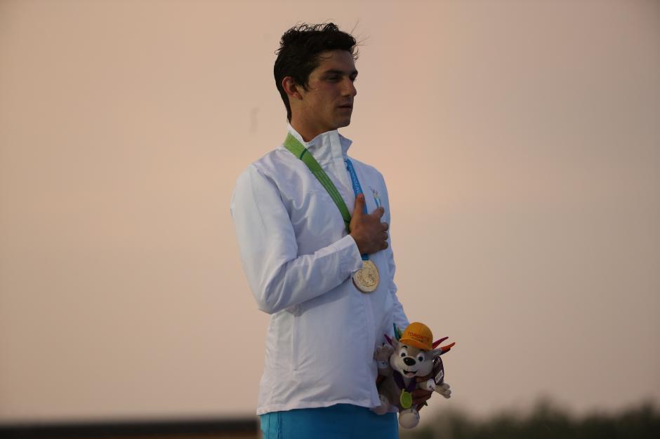 Charles Fernández con 19 años, debutó en Juegos Panamericanos, y ganó su primer oro. (Foto: Pedro Pablo MIjangos/Soy502)