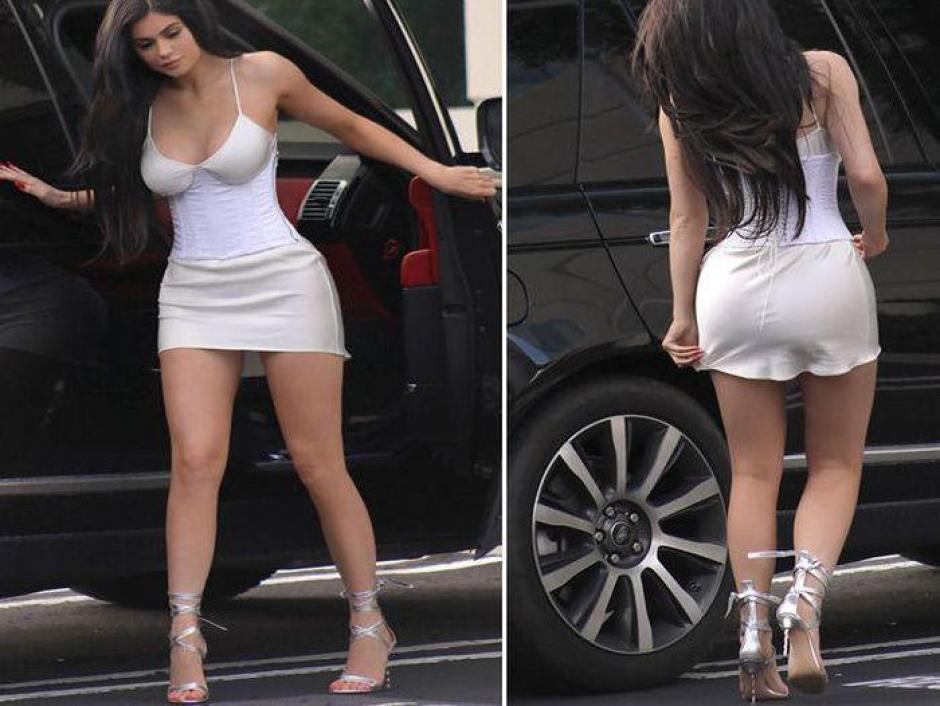 Kylie fue captada en Beverly Hills, Los Ángeles, California. (Imagen: Trome)