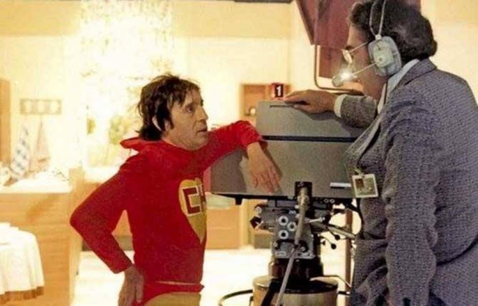 Roberto Gómez Bolaños fue un perfeccionista dentro del set de grabación. (Foto: FB mott.pe)