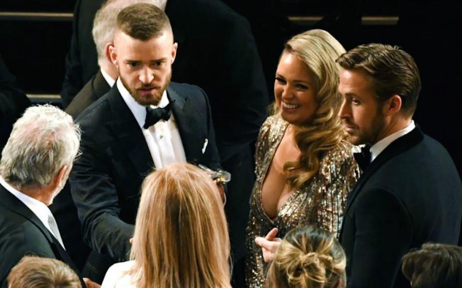 La rubia llamó mucho la atención de los presentes en la gala. (Foto: analitica.com)
