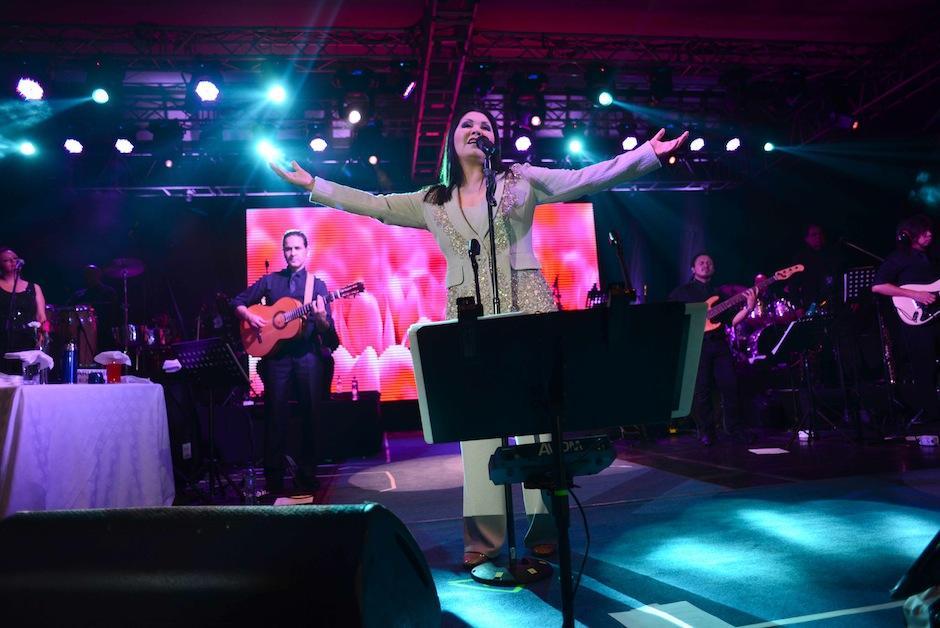 """""""Soledad"""" fue el tema que dio inicio a este gran show. (Foto: Jesús Alfonso/Soy502)"""