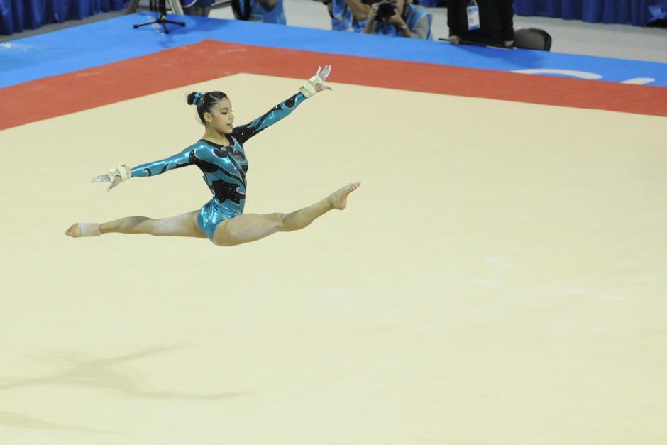 Ana Sofía Gómez ganó un bronce en la prueba de piso de los Panamericanos de Toronto 2015