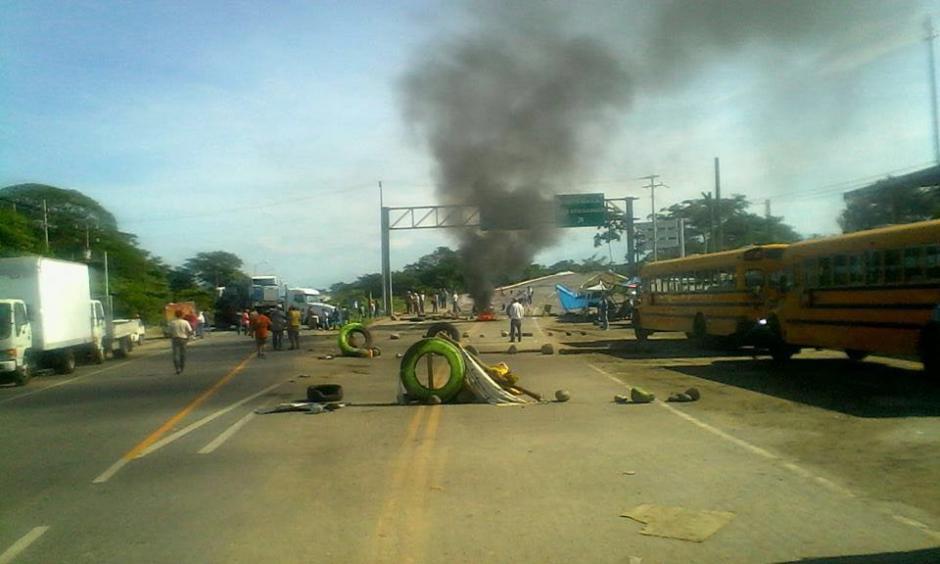 La manifestaciones de profesores en territorio mexicano afecta a Guatemala. (Foto: CIG)