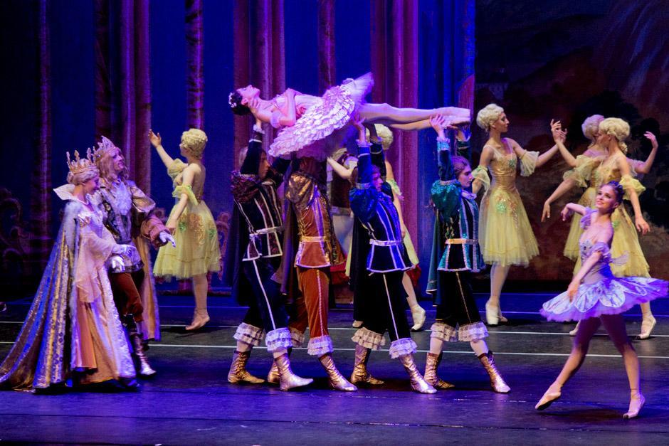 """""""La Bella Durmiente"""" del Russian Classical Ballet se presentó en la sala Efraín Recinos del Centro Cultural Miguel Ángel Asturias. (Foto: José Dávila/Soy502)"""