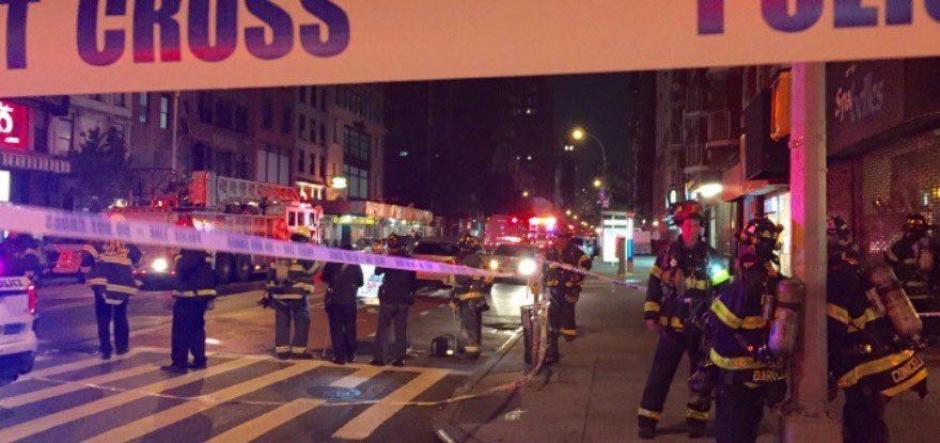 Al menos 25 personas resultaron heridas. (Foto: Twitter)