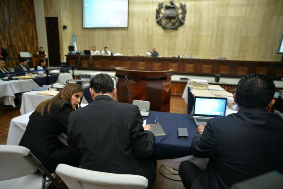 El juez Miguel Ángel Gálvez seguirá el uno de agosto la audiencia. (Foto: Wilder López/Soy502)