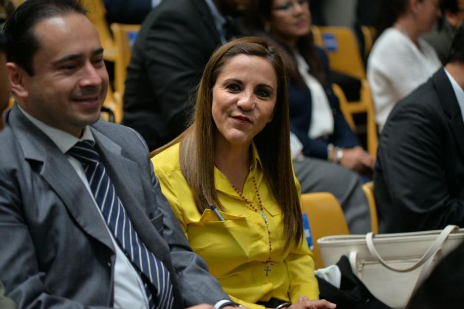 Ana Graciela López de la empresa Blue Oil, también guarda prisión por los aportes anónimos que realizó a la campaña del PP. (Foto: Wilder López/Soy502)