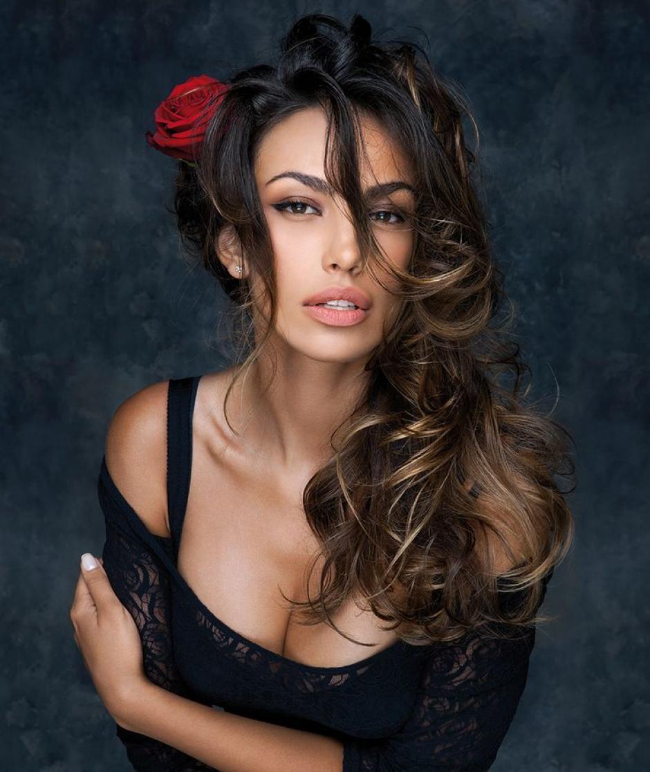 La modelo es la protagonista del anuncio de la fragancia del futbolista. (Foto: Pinterest)