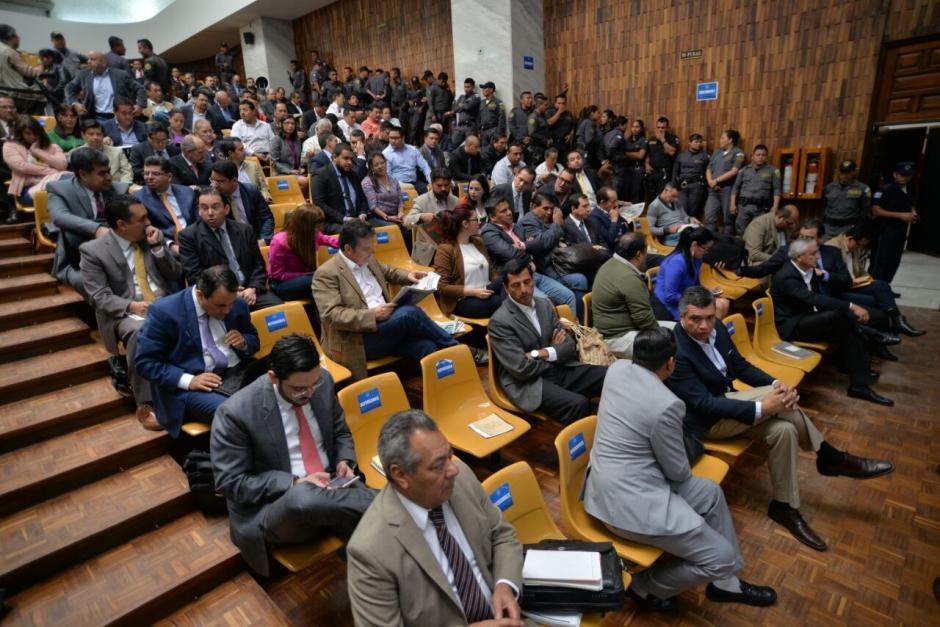 Esta es la jornada 12 de la audiencia de primera declaración por el caso Cooptación del Estado.  (Foto: Wilder López/Soy502)