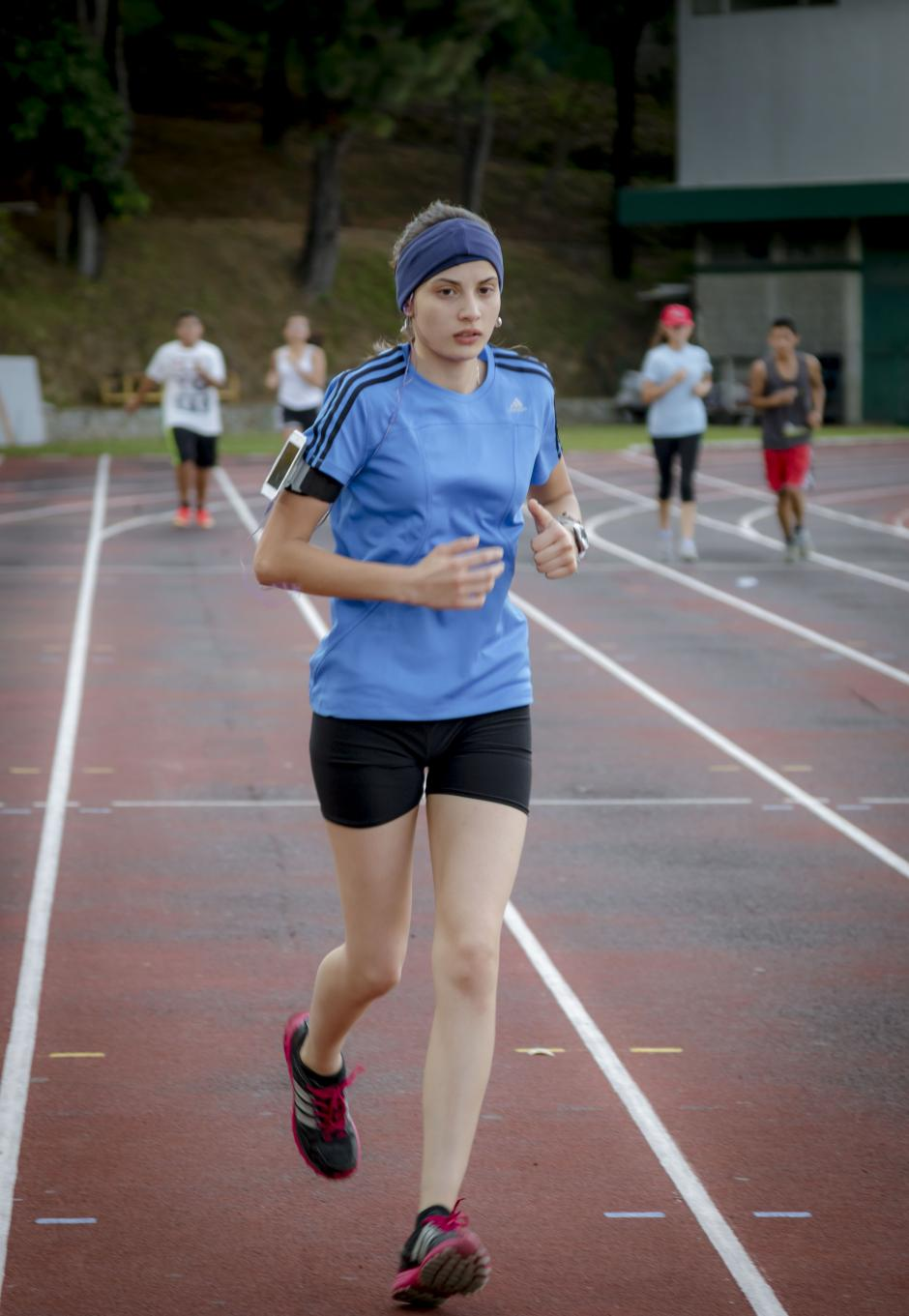 Las clases de atletismo se dictan de lunes a viernes, de 15:30 a 17 horas. (Foto: Soy502)