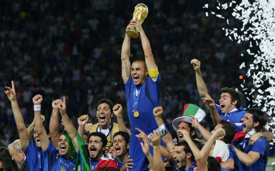 Italia ganó la Copa del Mundo de 2006. (Foto: Twitter)