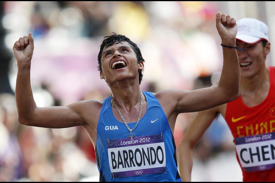 Erick Barrondo obtuvo la medalla de plata de marcha en los Juegos Olímpicos de Londres 2012. (Foto: Archivo)