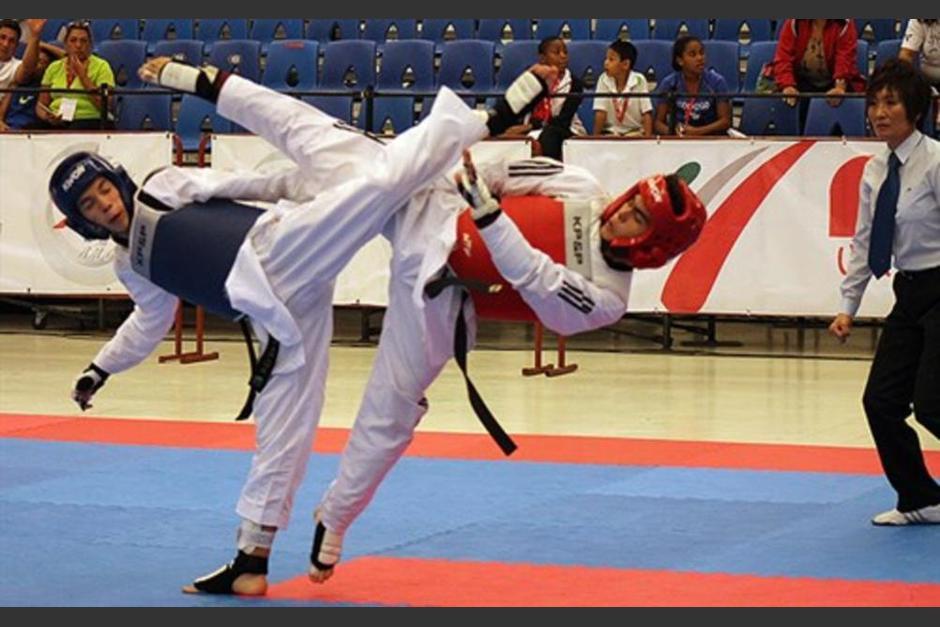 Francisco Palacios es una de las cartas jóvenes del taekwondo guatemalteco. (Foto: Archivo)