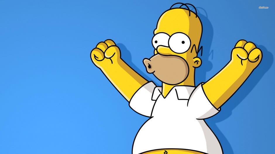 Homero es la cabeza de la familia Simpsons. (Foto: wallconvert.com)