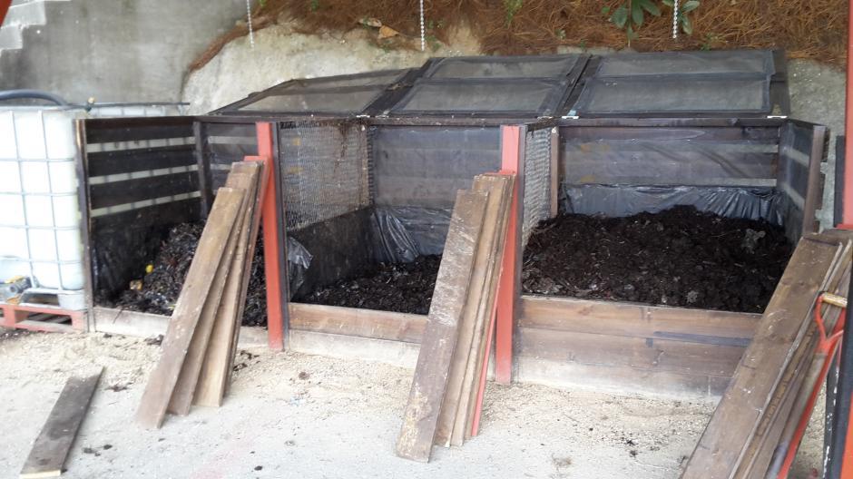 La planta de Vermicompostaje busca reducir la cantidad de desechos orgánicos que llegan a la basura. (Foto: Cortesía de Juan Pablo López)