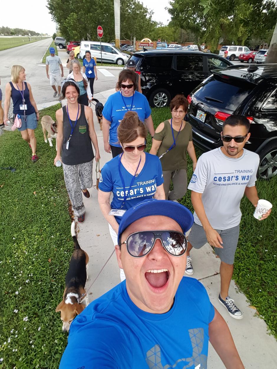 Erick pudo disfrutar de una semana de trabajo en Florida. (Foto: Erick Cruz)