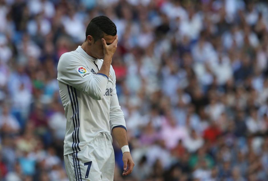 Cristiano Ronaldo no muestra aún su mejor versión. (Foto: AFP)
