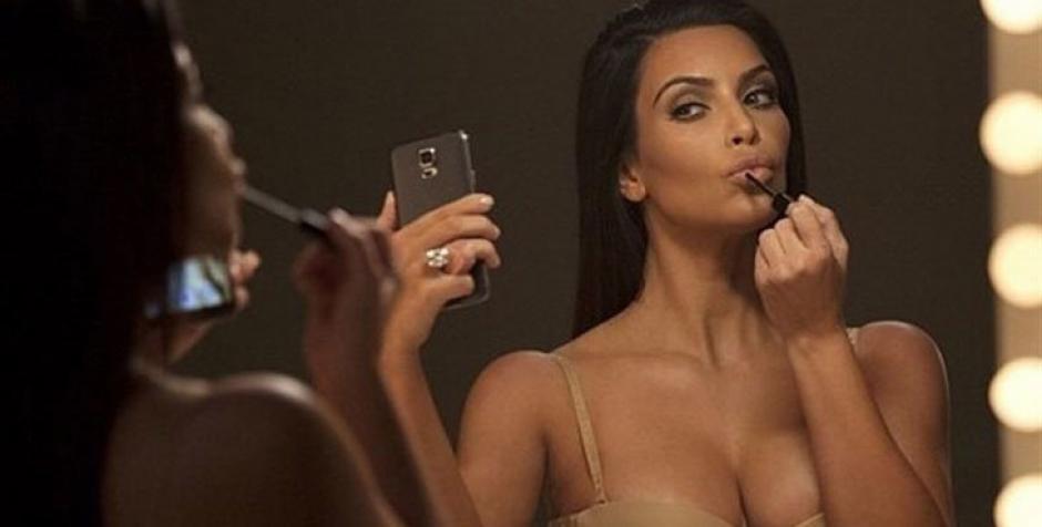 Kim Kardashian acostumbra a compartir fotografías en Instagram donde muestra su lado sensual.