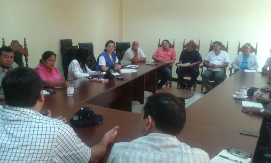 La Procuraduría de Derechos Humanos participó como mediadora en el proceso. (Foto PDH)