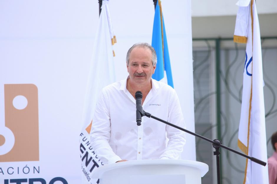 Carlos Mata, presidente ejecutivo de PepsiCo, compartió su alegría por este proyecto. (Foto: George Rojas/Soy502)