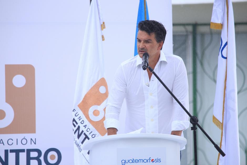 """""""Hay que identificar a los buenos y abrirles las puertas"""", instó el cantante. (Foto: George Rojas/Soy502)"""
