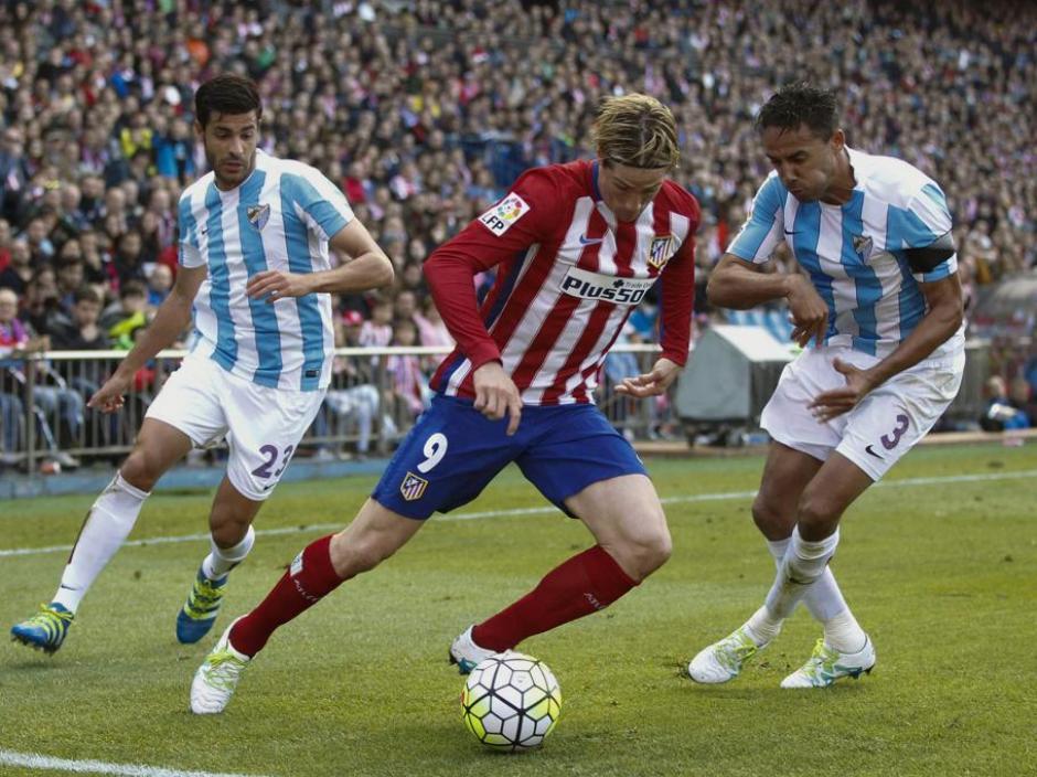 El Atlético sigue en la pelea del título de Liga. Así lució el Vicente Calderón. (Foto: AFP)