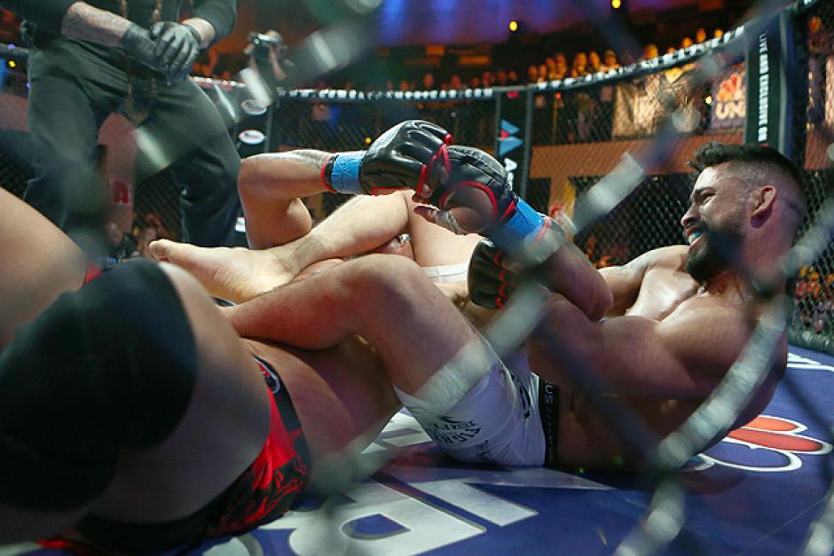 Heinrich Wassmer ha ganado cuatro combates, tres por sumisión y uno por nocaut. (Foto: Sherdog)