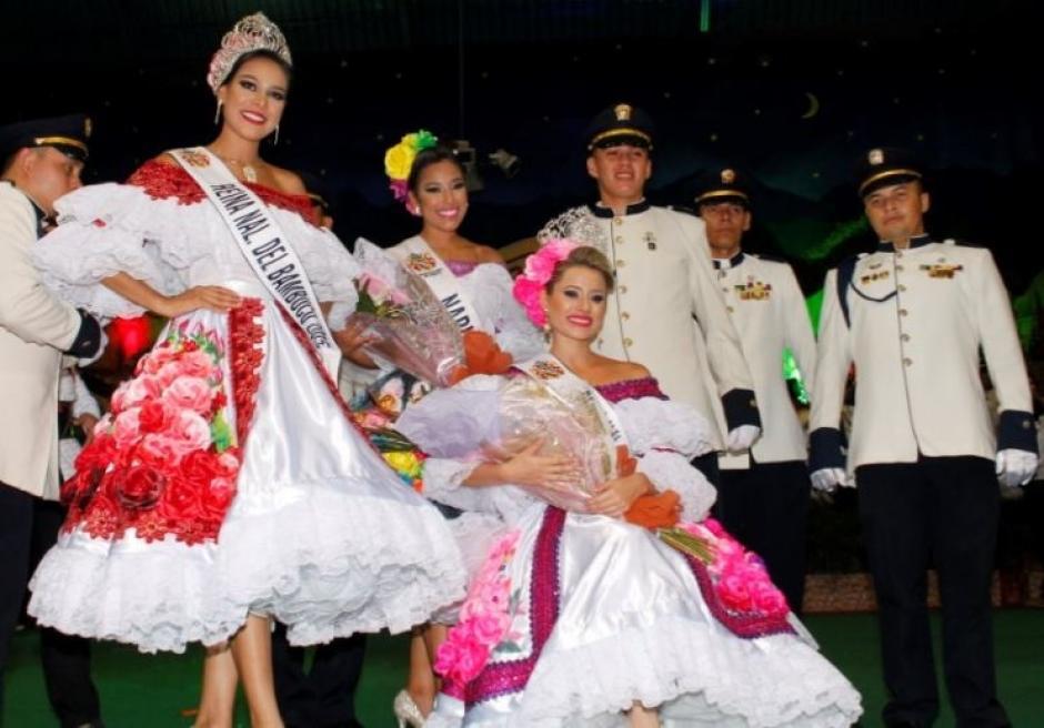 El concurso de belleza en El Festival Folclórico y Reinado nacional de Bambuco, en Colombia. (Foto: diariodelhuila)